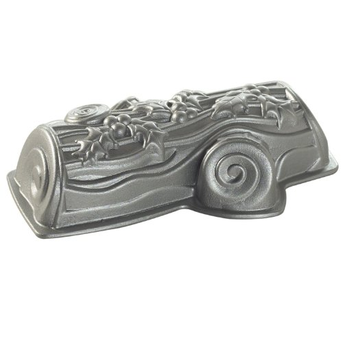Cast Nordicware 86.448 Mould Design Yule Log Cake