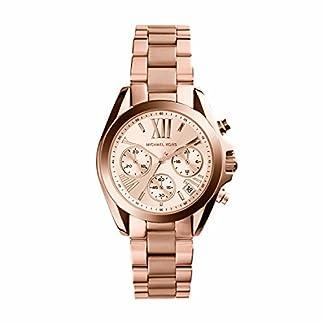 Michael Kors Reloj analogico para Mujer de Cuarzo con Correa en Acero Inoxidable MK5799