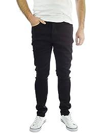Pour Homme Jeans Brave Soul Eastbourne Skinny stretch noir Casual Denim pour femme