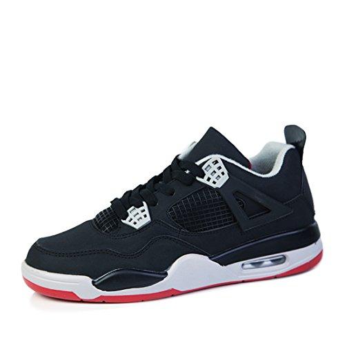 Men's Jordan Retro Basket Homme Outdoor Trainers Shoes Black