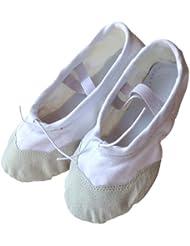 kein schmetterling Canvas Ballettschuhe - Zapatillas de danza de lona para niña