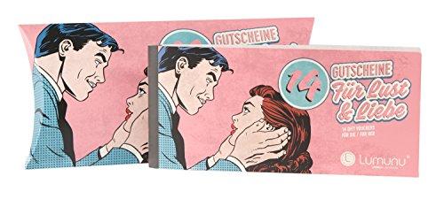 Deluxe Gutscheinheft 14 Gutscheine für Lust & Liebe, erotische Geschenkidee für Paare, Verwöhngutscheine für Sie - Bild 4