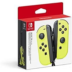 1 de Nintendo - Set De Dos Mandos Joy-Con Izquierda Y Derecha, Color Amarillo Neón (Nintendo Switch)