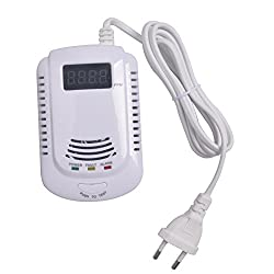 RCYAGO Standalone Plug-In Combustible Gas Detector LPG LNG Coal Natural Gas Leak Alarm Sensor With Voice Warning Alarm Sensor from RCYAGO