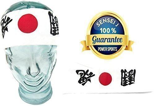 Neu Takashi KENDO Tenugui Samurai 200cm (Hachimaki - Hissho (Sieg) Baumwolle Ninja Shinobi Stirnband Für (Kopfbedeckung Ninja)