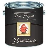 The Flynn 2K Bootslack hochwertiger Yachtlack für GFK/Polyester/Kunststoff ALLE RAL Farben und farblos Bootsfarbe Yachtfarbe 2 Komponenten Pakett-Lack Schiffslackierung (2,5 kg, Himmelblau RAL 5015)