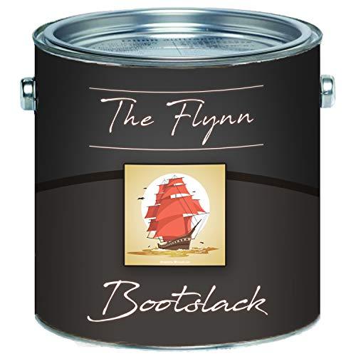 The Flynn 2K Bootslack hochwertiger Yachtlack GFK/Polyester/Kunststoff ALLE RAL Farben farblos Bootsfarbe Yachtfarbe 2 Komponenten Parkettlack Schiffslackierung (2,5 kg, Anthrazitgrau RAL 7016)