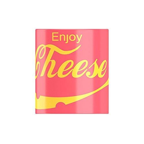 ENJOY formaggio famous fizzy drink, motivo: loving FatCuckoo-Tazza da latte, rosso, Taglia unica