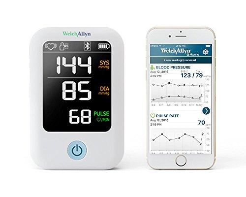 Welch Allyn Home 1700 Blutdruckmessgerät mit patentierter SureBP-Technologie und einfacher Smartphone-Konnektivität