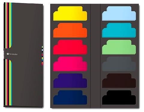600 Sticky Tab Markers +++ Blatt Haftnotizblätter (liniert) +++ ZUBEHÖR für Semikolon FOTOABLEN & -BÜCHER +++ Semikolon Qualität