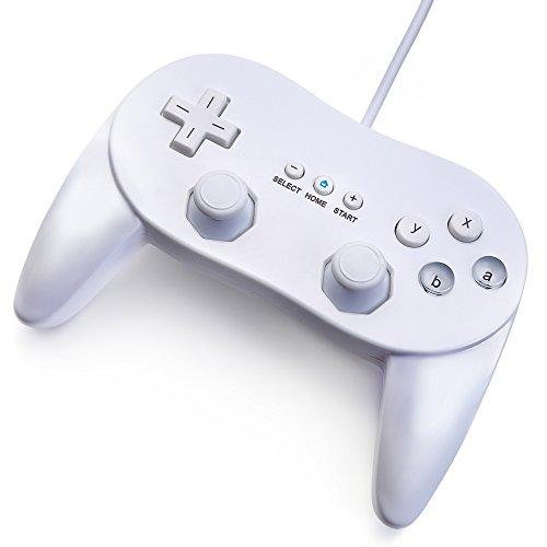 JEINDEER Classic Controller Pro GamePad für Nintendo Wii Weiß (Toys R Us, Spiele)