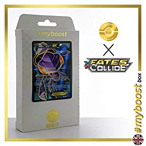 GENESECT EX 120/124 Full Art - #myboost X Fates Collide XY 10 - Caja de 10 Cartas Pokémon inglesas