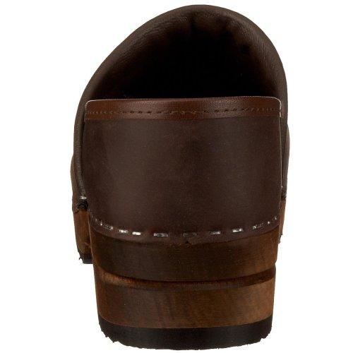 Sanita Wood-Julie closed 1201005W-78, Chaussures femme Marron-TR-A-4-378