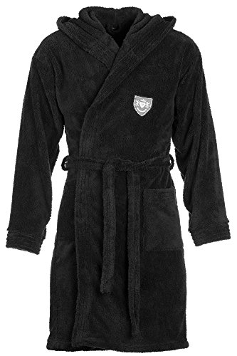DF, Herren Bademantel, 02, black, Gr. XXXL