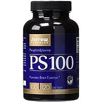 Jarrow PS-100 Phosphatidylserine 100mg, 120 caps (Pack of 2) by Jarrow Formulations