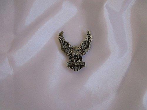5-button Weste (Artikel wird am nächsten Tag versand! Harley Davidson original pin 7,5x 5 cm Rückseite mit 2 Schrauben und Stempel Shipping to france and england 4-6 days)