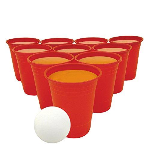 Bier pong Set trinken Portable Party Tisch Jugendliche Erwachsene Alkohol vor Getränke lustige Spiele