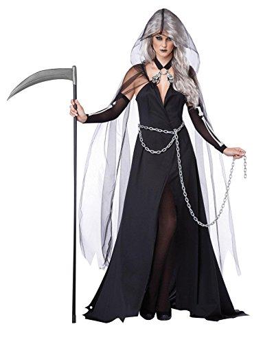 Costume Dark Lady per la donna Halloween - Piccolo