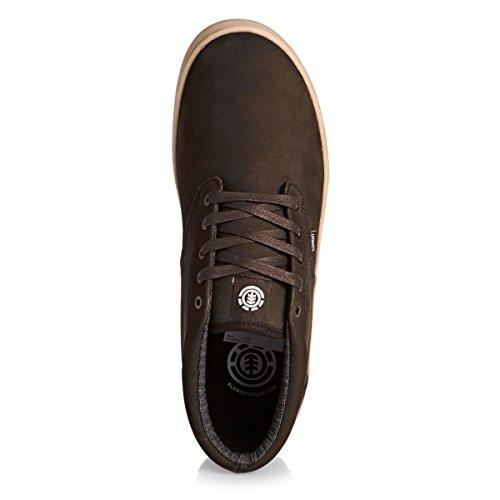 Element Preston, Herren Hohe Sneakers walnut premium