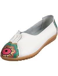 Vogstyle Mujeres Tacón Bajo Plano Zapatos Aleatorio Sandalias De Confort Zapatillas ZY004