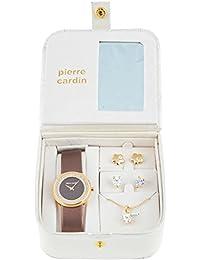 Conjunto Collar y Pendientes Mujer Pierre Cardin PCX5404L229 (4 pcs)