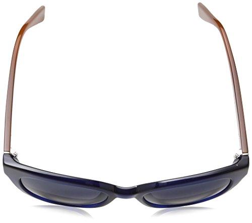 Trussardi Damen Sonnenbrille Str017 Blue (Shiny Opaline Blue), One size