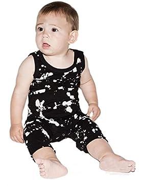 Igemy Kleinkind Baby Kinder Jungen Punkte Gedruckt Overall One-Piece Kleidung Spielanzug