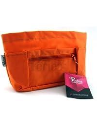 Periea - Organiseur de sac à main + porte-clés, 9 Compartiments - Chesa (Orange)