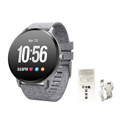 Blue-Yan Smart-Armband, mit Schrittzähler, Touchscreen mit Blutdruck und Schlaf-Monitor, Fitness-Uhr mit Atemlicht für Android und iOS Nr. 3