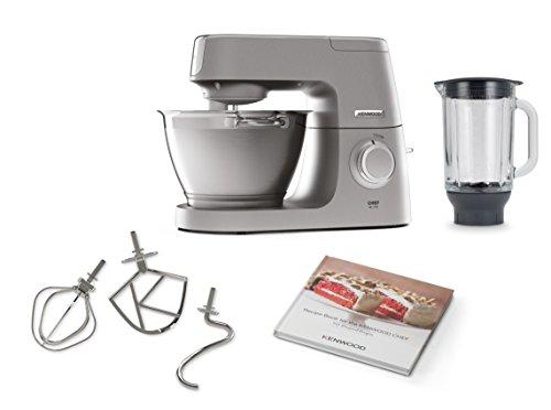 De'Longhi KVC5320S Chef Elite Küchenmaschine, Aluminium, 4.6 liters, Silber