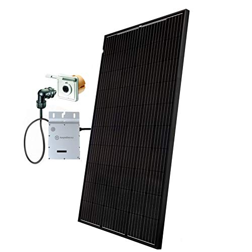 Minisolar Balkon Solar Mono Single 310 W inkl. Einspeissteckdose