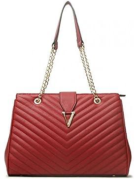 LeahWard® Damen Mode Desinger Qualität Tragetaschen Damen Modisch Schnell verkaufend Handtaschen Große Größe Schultertaschen...