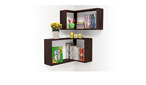 Urban Ladder Gemelo Bookshelf Mahogany Amazonin Home Kitchen