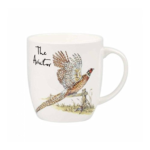 Churchill Fine China (Queens Country Pursuits Olive Tasse Aviator, Fine Bone China, Mehrfarbig, 8,8 x 8,8 x 9 cm)
