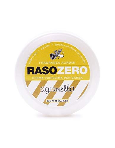 Rasozero Agrumella. Rasierseife Duft Zitrus 125ml. Rasozero, der Italiener rasiert sich.