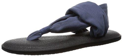 Sanuk Damen Yoga Sling 2 Robust Vintage, Slate Blue, 38 EU -