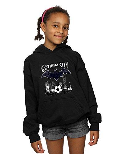 DC Comics Girls Batman Football Gotham City Hoodie