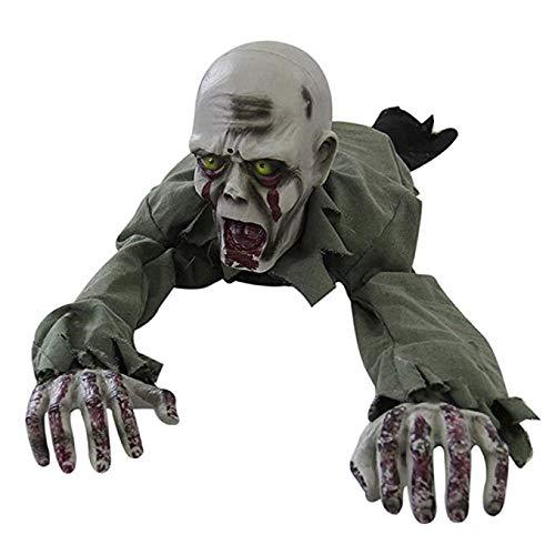 HIJIN Halloween-Dekoration-Kriechender Geist-Zombie-Geist Rief Gruseliges Verzierung-Baby-Geisterhaus An
