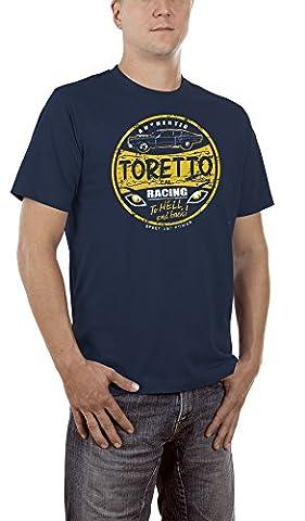 Touchlines Toretto Racing 2 Fast 2 Furious, T-Shirt Homme, Bleu-Blau (Navy 18), s