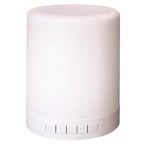 Smooz Can, mobiler Bluetooth-Lautsprecher, mit LED-Beleuchtung, Farbwechsel