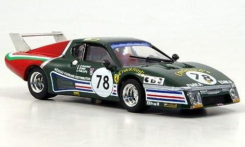 Ferrari 512 BB LM, No.78, Crockford's, O'Rourke / Phillips / Down, 24h Le Mans, 1980, Modellauto, Fertigmodell, Brumm 1:43