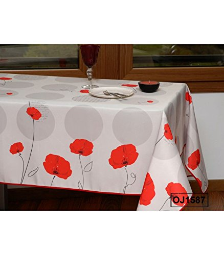 REDFLOWER - Nappe anti-taches - Ronde 160cm