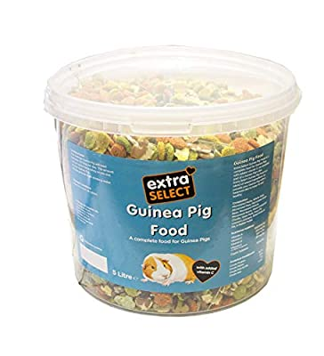 Extra Select Dry Guinea Pig Mix Bucket, 5 Litre by Extra Select