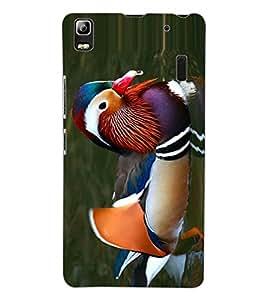 ColourCraft Beautiful Duck Design Back Case Cover for LENOVO A7000