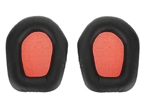 2 Ersatz Ohrpolster für Mad Catz Tritton Primer Stereo Headset, Orange / Schwarz