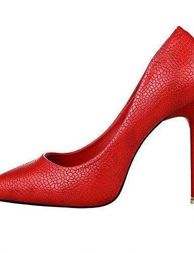 WSS 2016 Chaussures Femme-Extérieure / Bureau & Travail / Soirée & Evénement-Noir / Rose / Rouge / Blanc / Gris / Amande-Talon Aiguille-Talons / pink-us7.5 / eu38 / uk5.5 / cn38