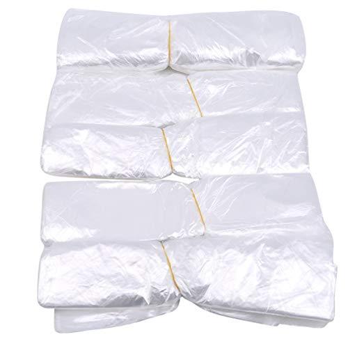 SUNSKYOO 500 Stücke Fuß Badewanne Liner Kunststoff Einweg Spülbecken Tragbare Dicke Schönheit Tasche