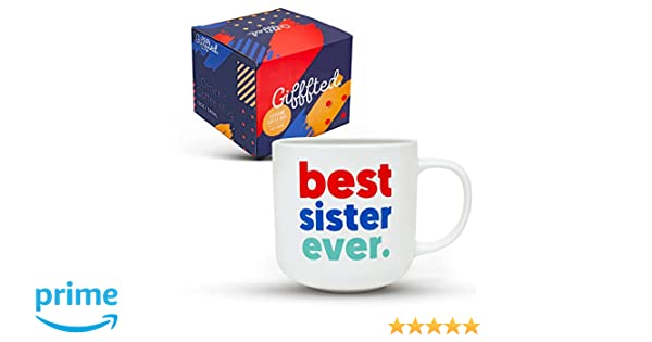 Gifffted Best Sister Ever Coffee Mug Birthday Gift Ideas For My Worlds Greatest Sister From Sister And Brother Biglittletwin Sisters Gifts
