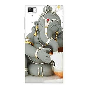 Impressive Ganesha Ji Multicolor Back Case Cover for Xiaomi Mi3
