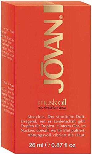 Jovan, Musk Oil, Eau de Parfum con vaporizzatore, 26 ml